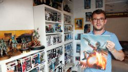 """Christophe Stienlet verzamelt alles van 'Star Wars': """"Ik moet me inhouden om niet elke dag op zolder met mijn mannekes te spelen"""""""