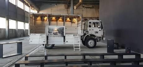 Wim Sanders uit Groesbeek brengt 4-tonner naar museum Srebrenica