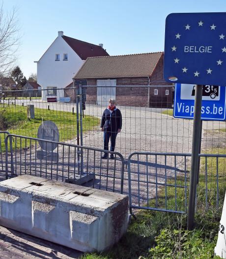 Angst en onzekerheid, maar ook komische taferelen aan de grens van Zeeuws-Vlaanderen