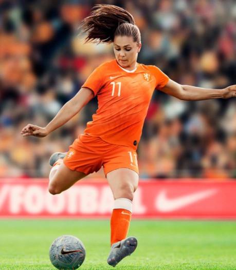 WK-shirt Leeuwinnen is 'ode aan Nederlandse voetbalhistorie'