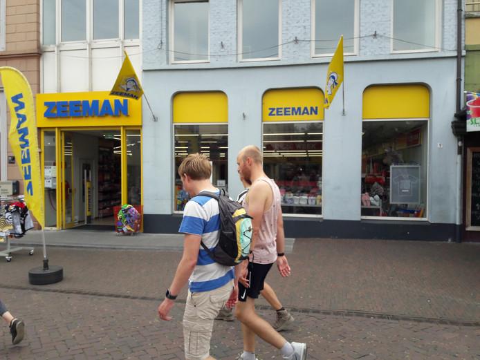 Zeeman in Gennep gaat dicht.