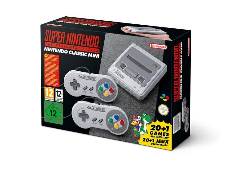 De Super Nintendo Classic Mini Beeld
