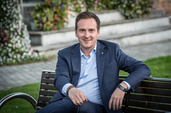 Kandidaat-voorzitter Francesco Vanderjeugd.