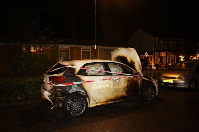 Autobrand in Waardenburg