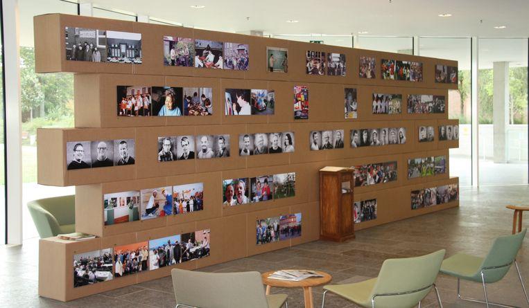 Deze fotowand staat voorlopig nog in Torhout, maar verhuist straks naar Lichtervelde.