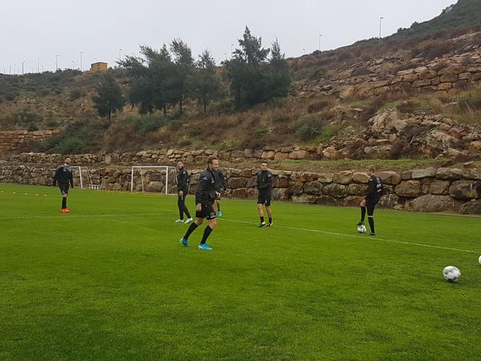 Heracles was in 2018 op trainingskamp in Estepona en gaat deze winter ook weer naar Spanje.