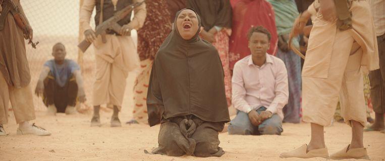 Layla Walet Mohamed als Toya in Timbuktu van regisseur Abderrahmane Sissako. Beeld .