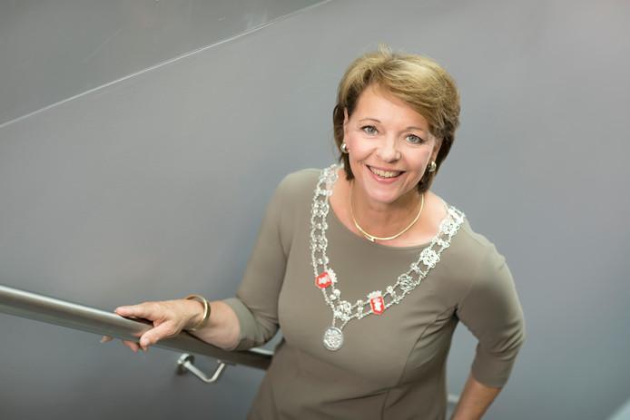 Burgemeester Elly Blanksma van Helmond