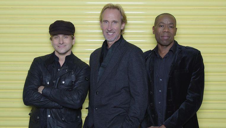 The Mechanics, met onder anderen de gewezen dEUS-leden Rudy Trouvé en Mauro Pawlowski Beeld