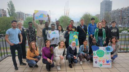 Leerlingen van OKAN Oostende getuigen over impact klimaat in geboorteland en vragen ook lokale acties