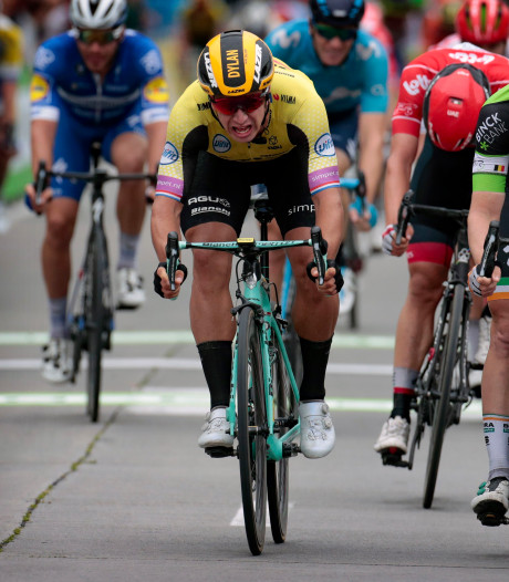 Triplé pour Sam Bennett, lauréat au sprint d'un rien au BinckBank Tour