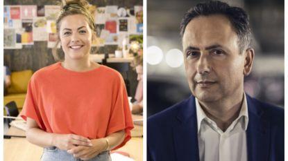 Frances Lefebure en Faroek Özgünes zoeken de held die stewardess hielp na de aanslag op Zaventem