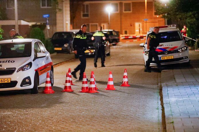 Schoten gelost op woning in Eindhoven