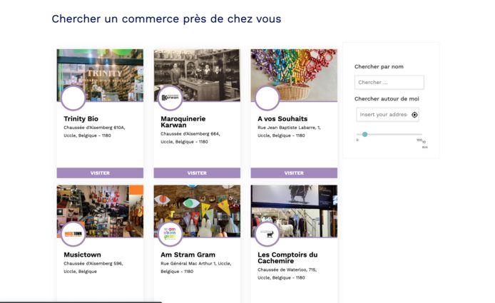 My.market.brussel: winkels kunnen zichzelf in de kijker plaatsen.