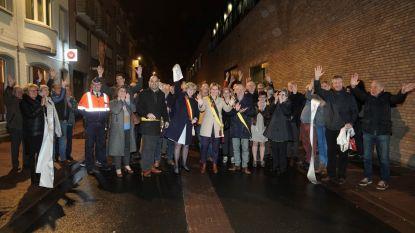 Gazometerstraat feestelijk ingehuldigd