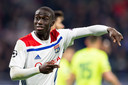 Ferland Mendy in het shirt van Olympique Lyon.