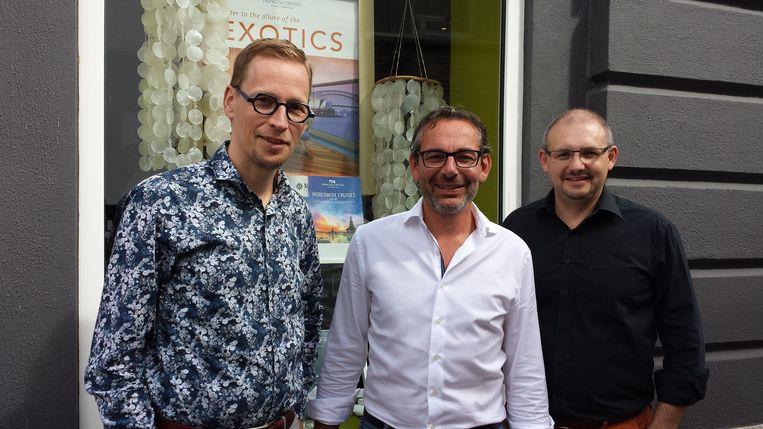 Bart Debbaut, Steven Vanhoegaarden en Peter Vandevelde wisten Kurt Van Eeghem, Jacques Vermeire, Gerty Christoffels en Walter Grootaers te strikken voor hun evenement.