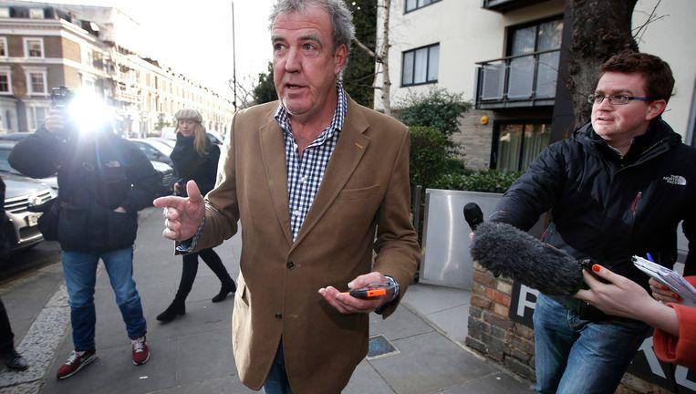 Clarkson gisteren in Londen. Beeld reuters