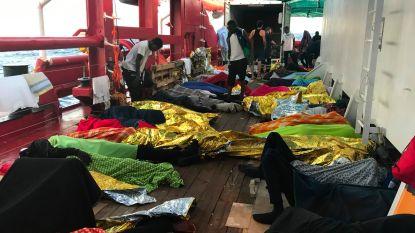 Alweer een reddingsschip in nood: Ocean Viking bijna zonder eten
