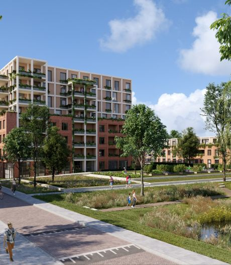 Zo'n 132 woningen op Dr. Wibautplein in Schiedam; ook omgeving gaat op de schop