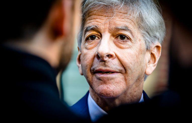 Toenmalig PvdA-minister Ronald Plasterk kwam in 2013 met de Wet Normering Topinkomens (WNT). Die legde vast dat uiteindelijk niemand in de semipublieke sector meer mocht verdienen dan een minister. Beeld ANP