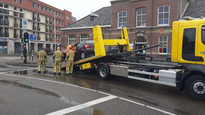 Het ongeluk gebeurde op het Vaillantplein.