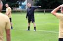 Theo Lucius werd aangesteld als trainer van het eerste elftal.