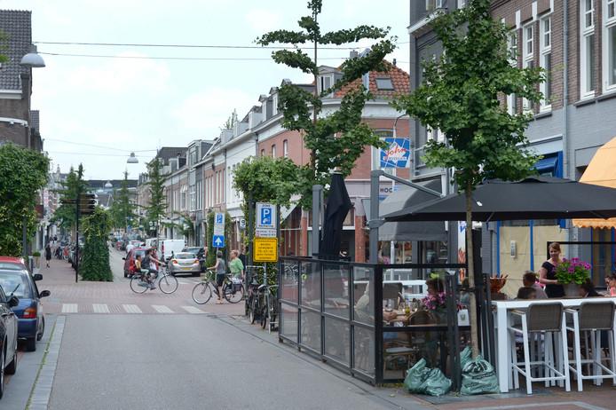 De Van Welderenstraat in Nijmegen.