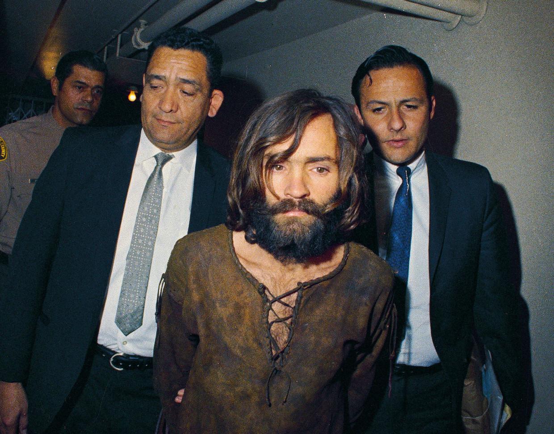 Sekteleider Charles Manson in 1969.