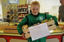 Op naar een gezonde sportomgeving: spelers en tegenstanders van SV Zwolle kunnen ieder weekeinde gratis fruit krijgen in de kantine voor of na een wedstrijd.