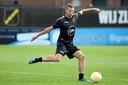 Spits Robert Mühren komt het komende seizoen uit voor NAC Breda. Hij is voor een jaar gehuurd van Zulte Waregem. Hier is hij in actie tijdens de training op het trainingscomplex in Zundert.