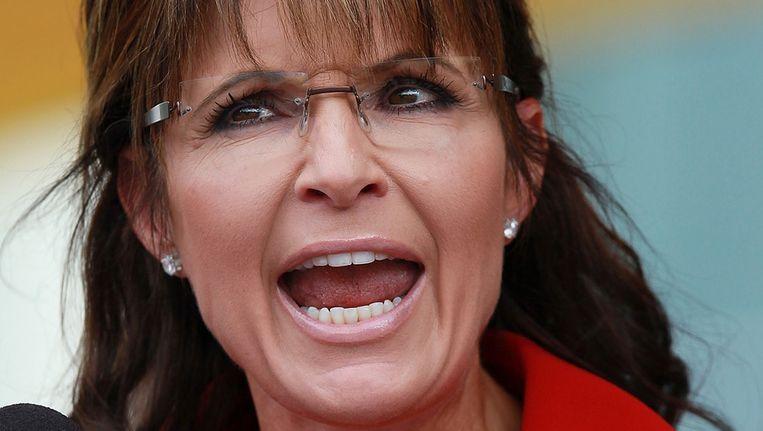 Sarah Palin. Beeld getty