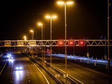 A27 tussen Utrecht-Noord en Eemnes 's nachts dicht door werkzaamheden