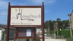 Hotel-restaurant 't Hemelryck tijdelijk dicht na overlijden uitbater