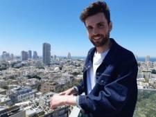 Duncan Laurence verkent Tel Aviv