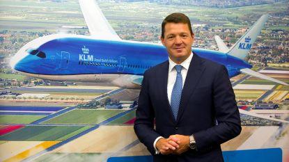 """Topman KLM geeft bijzonder advies: """"Vlieg met mate"""""""