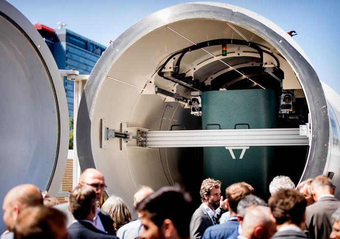 Het snelheidsrecord voor een hyperloop gaat niet naar Nederland.