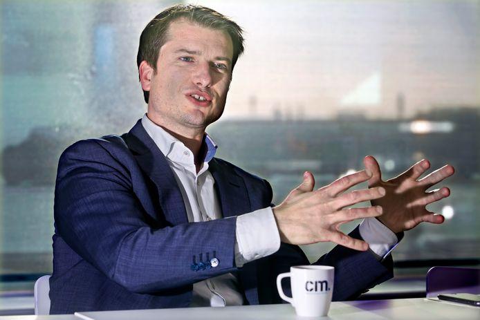 Directeur Jeroen van Glabbeek van CM.com