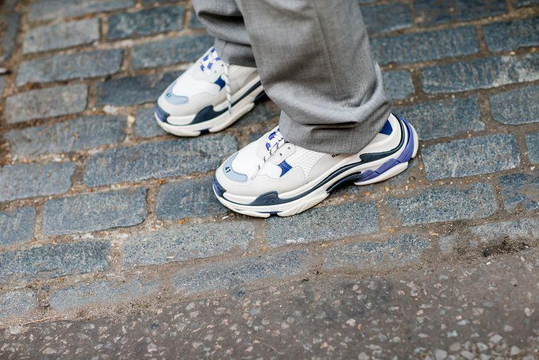 De Triple S-sneaker van Balenciaga