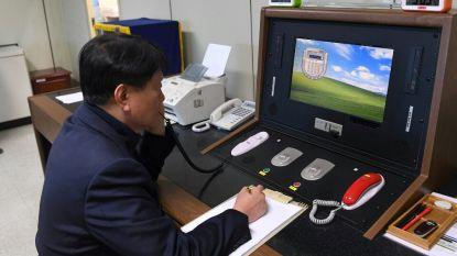 Noord-Korea heropent 'hotline' met Zuid-Korea