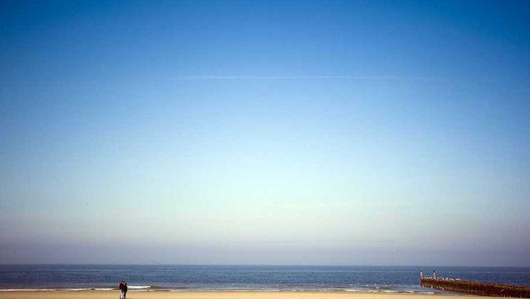 Het strand van het Zeeuwse Domburg. Beeld anp