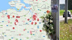 IN KAART: Dit zijn de gevaarlijkste (fiets)kruispunten van Vlaanderen