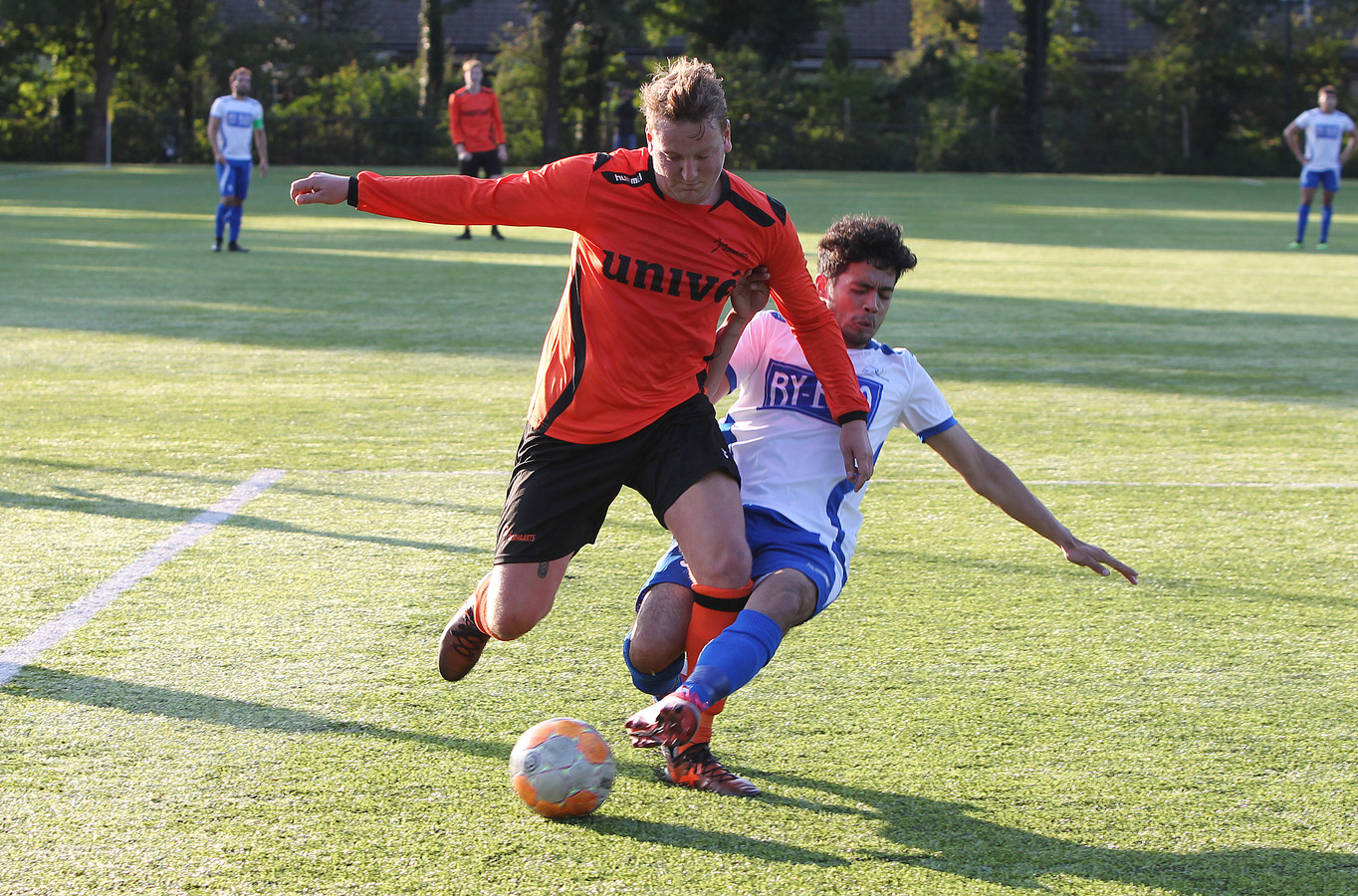 Voorwaarts Twello won de openingswedstrijd van het seizoen.