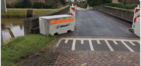 Uitstel voor opknapbeurt brug bij Groenendaal in Esch