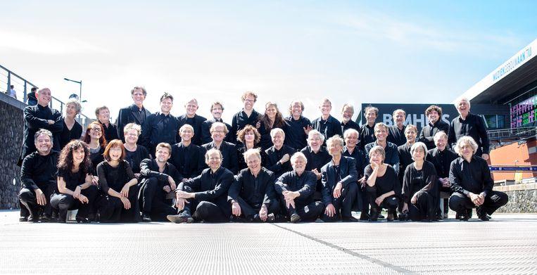 Orkest van de Achttiende Eeuw Muziekgebouw aan 't IJ. Beeld Annelies van der Vegt