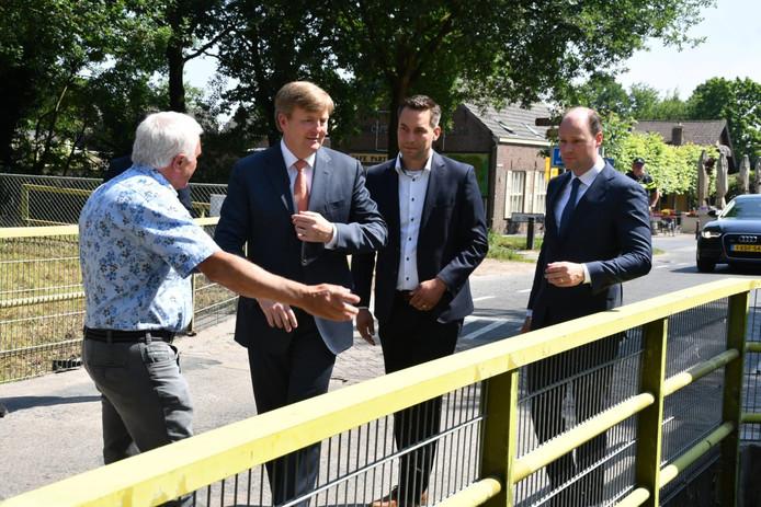Koning Willem-Alexander in Esbeek.