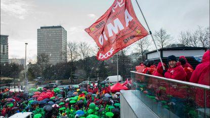 Betoging federale ambtenaren: Brusselse tunnels deels afgesloten, grote verkeershinder verwacht