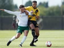 Officieel debuut als profvoetballer voor Gylermo Siereveld