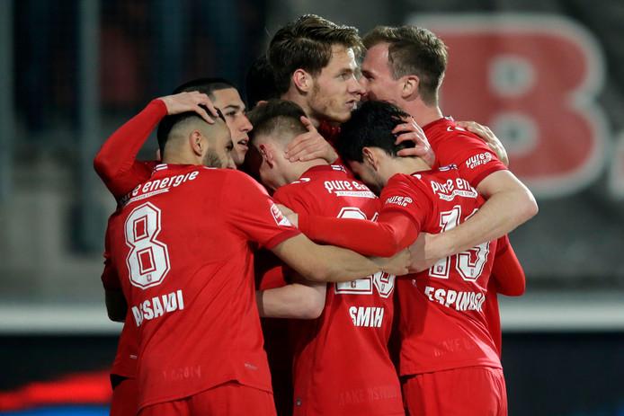FC Twente, hier in actie tegen Den Bosch
