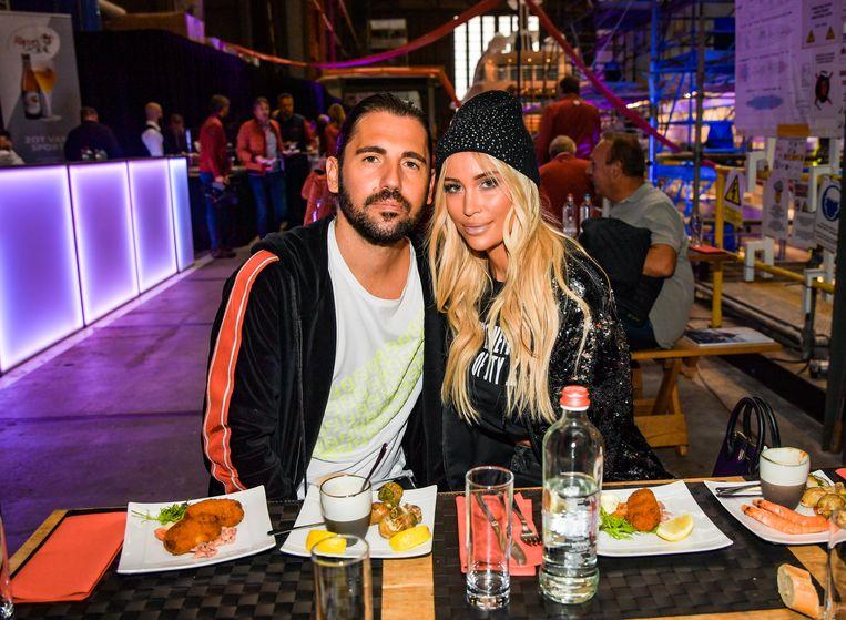 Dimitri Vegas en zijn vrouw Anouk Matton.